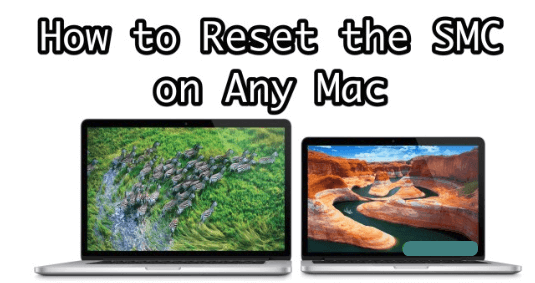 3 ways to reset smc on mac