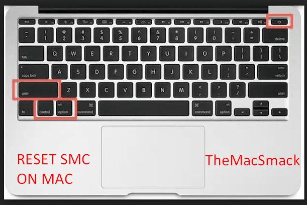 Restting SMC on Mac