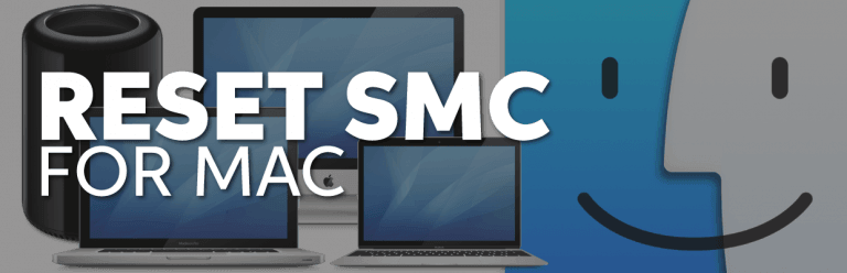 reset smc on macbook air, pro, imac