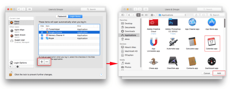 How to Remove Startup programs on Mac