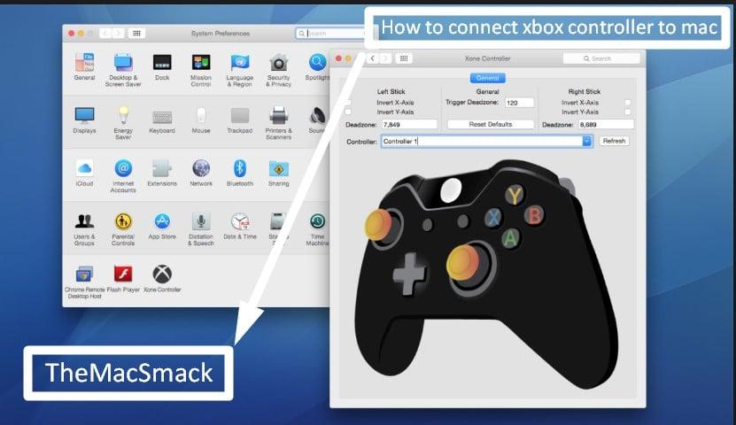 xbox controller mac