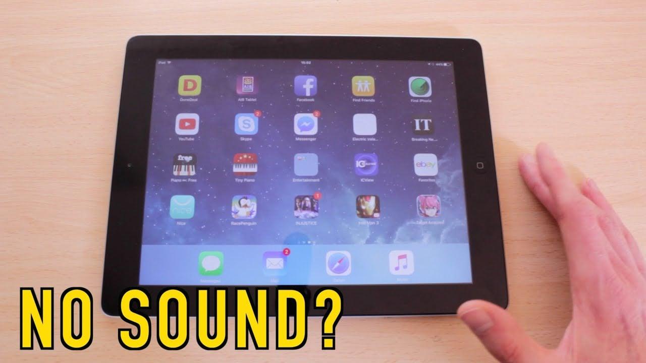 How to Fix No Sound on iPad