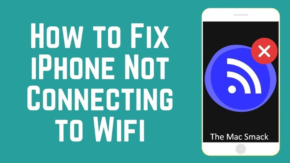 iPhone not connecting to wifi