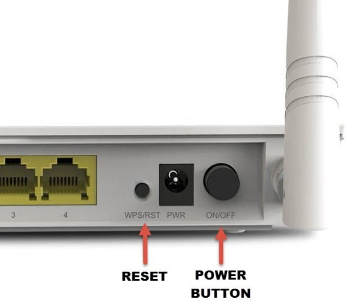 Reset you wifi router to fix iphone not connecting to wifi