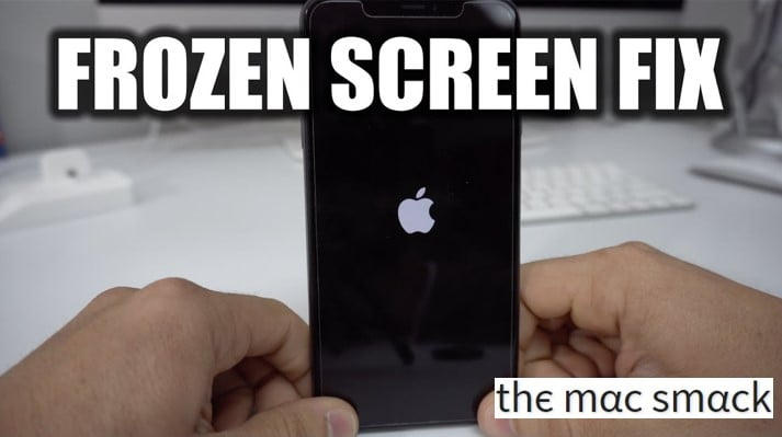 How to Fix iPhone Frozen Screen Issue 2019