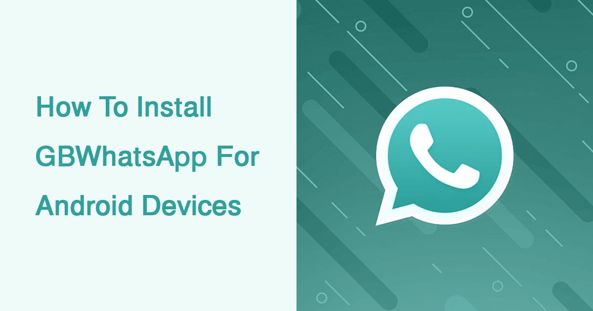 Whatsapp gb app download 2020